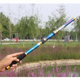 Yuelong Joran Pancing Portable Telescopic Epoxy Resin 2.1M/5 - Blue - 10