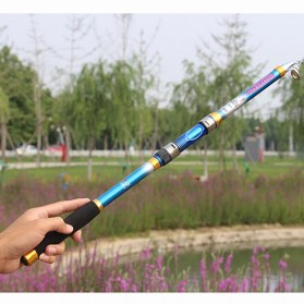 Yuelong Joran Pancing Portable Telescopic Epoxy Resin 2.4M/6 - Blue - 10