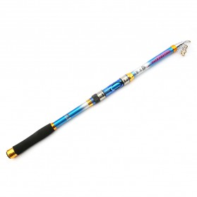 Yuelong Joran Pancing Portable Telescopic Epoxy Resin 3.6M/7 - Blue - 2