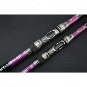 JIEWEIYUJU Joran Pancing Portable Telescopic Epoxy Resin 2.4M/6 - Purple - 4