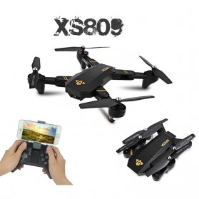 Visuo Quadcopter Drone WiFi FPV with VGA Camera - XS809H-W-VGA - Black