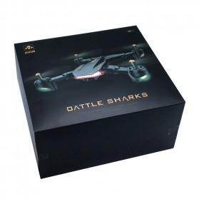 Visuo Battle Shark Quadcopter Drone WiFi 0.3MP Camera - XS809S-H-W-VGA - Black - 10