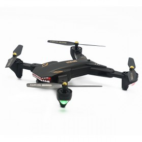 Visuo Battle Shark Quadcopter Drone WiFi 2MP Camera - XS809S-H-W-G - Black - 2