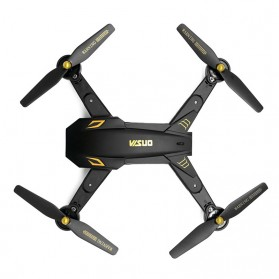 Visuo Battle Shark Quadcopter Drone WiFi 2MP Camera - XS809S-H-W-G - Black - 5