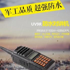 Taffware Walkie Talkie Dual Band 5W 16CH UHF+VHF - UV-9R - Black - 3