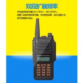 Taffware Walkie Talkie Dual Band 5W 16CH UHF+VHF - UV-9R - Black - 4