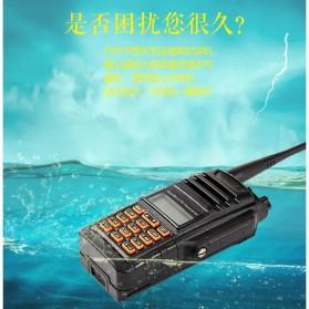 Taffware Walkie Talkie Dual Band 5W 16CH UHF+VHF - UV-9R - Black - 5