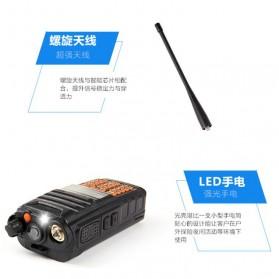 Taffware Walkie Talkie Dual Band 5W 16CH UHF+VHF - UV-9R - Black - 7