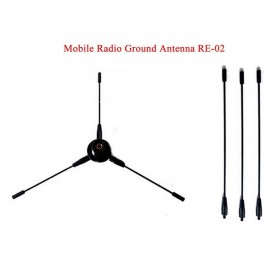 Taffware Pofung Nagoya Antena UHF-F 10-1300MHz Ground Radical for Car Mobile Radio- RE-02 - Black - 2
