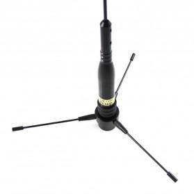Taffware Pofung Nagoya Antena UHF-F 10-1300MHz Ground Radical for Car Mobile Radio- RE-02 - Black - 6
