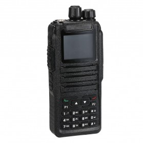 Taffware Walkie Talkie Dual Band Two Way Radio 5W 3000CH UHF+VHF - DM-1701 - Black
