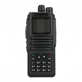 Taffware Walkie Talkie Dual Band Two Way Radio 5W 3000CH UHF+VHF - DM-1701 - Black - 2