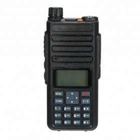 Taffware Walkie Talkie Dual Band Two Way Radio 5W 3000CH UHF+VHF - DM-1801 - Black