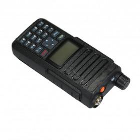 Taffware Walkie Talkie Dual Band Two Way Radio 5W 3000CH UHF+VHF - DM-1801 - Black - 2