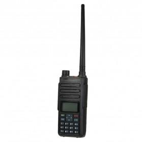 Taffware Walkie Talkie Dual Band Two Way Radio 5W 3000CH UHF+VHF - DM-1801 - Black - 3