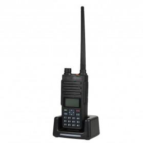 Taffware Walkie Talkie Dual Band Two Way Radio 5W 3000CH UHF+VHF - DM-1801 - Black - 4