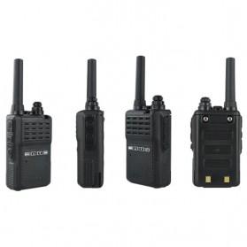 Taffware Walkie Talkie Two Way Radio 5W 16CH UHF - BF-E90 - Black - 5