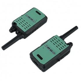 Taffware Walkie Talkie Two Way Radio 5W 16CH UHF - BF-E90 - Green - 2