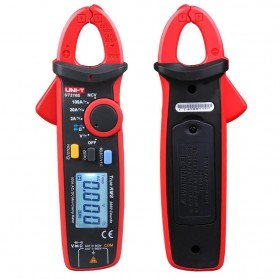 UNI-T RMS Mini Digital Clamp Meters NVC Mulitmeter AC/DC - UT210E - Black/Red - 2