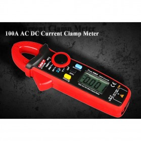UNI-T RMS Mini Digital Clamp Meters NVC Mulitmeter AC/DC - UT210E - Black/Red - 9