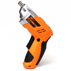 DC Tools Obeng Listrik Cordless Screwdriver 4.8V 52 in 1 - S032 - Orange - 2