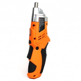 DC Tools Obeng Listrik Cordless Screwdriver 4.8V 52 in 1 - S032 - Orange - 3