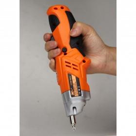 DC Tools Obeng Listrik Cordless Screwdriver 4.8V 52 in 1 - S032 - Orange - 4