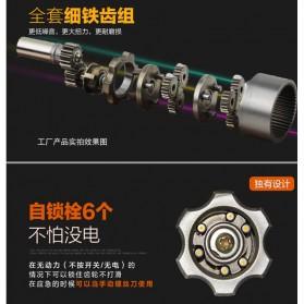 DC Tools Obeng Listrik Cordless Screwdriver 4.8V 52 in 1 - S032 - Orange - 8