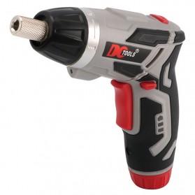 DC Tools Obeng Listrik Cordless Screwdriver 3.6V 52 in 1 - S033 - Silver - 2