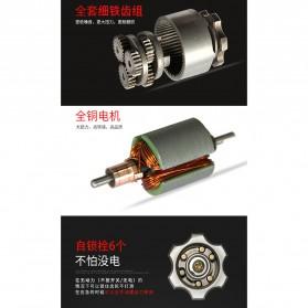DC Tools Obeng Listrik Cordless Screwdriver 3.6V 52 in 1 - S033 - Silver - 7
