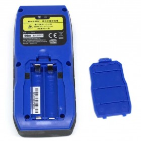 Mini Miles Pengukur Jarak Laser 60M - M60 - Blue - 4