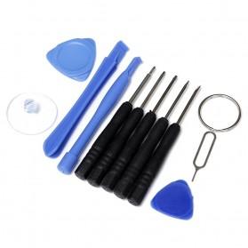 Alloet Peralatan Reparasi Smartphone 11 in 1 Repair Tools Set - W3011 - Black - 3