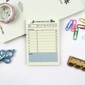 Kalender Planner Schedule Agenda Memo Notebook Model To Do List - AF37