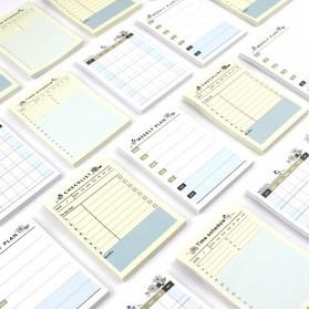 Kalender Planner Schedule Agenda Memo Notebook Model Weekly - AF37 - 2