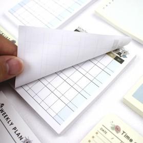 Kalender Planner Schedule Agenda Memo Notebook Model Weekly - AF37 - 5