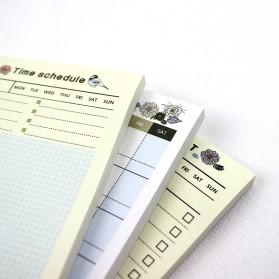 Kalender Planner Schedule Agenda Memo Notebook Model Weekly - AF37 - 6