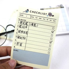Kalender Planner Schedule Agenda Memo Notebook Model Weekly - AF37 - 7
