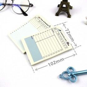 Kalender Planner Schedule Agenda Memo Notebook Model Weekly - AF37 - 8