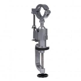 Alloet Clamp Stand Holder Bor Listrik Bench Rack Grinder - BG-6117 - Silver - 2