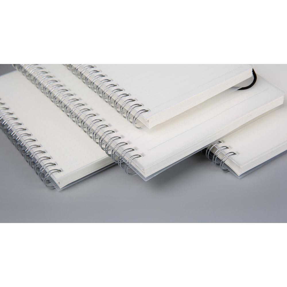 JIANWU Buku Binder Catatan Jurnal Harian Notebook Format Dotted Pages Ukuran A6 S2526 White JakartaNotebook