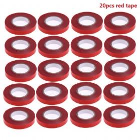 VKTECH Lakban Batang Tanaman Red Tape Branch Stem Strapping 20 PCS - VK20 - Red