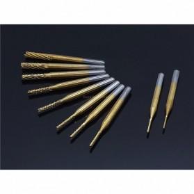 ManPingLu Mata Bor Tungsten Carbide Titanium Coated 10 PCS - GJ0106 - White - 6