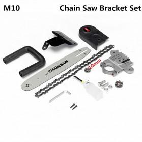 Bailide Aotuo Gergaji Chainsaw Bracket Set M10 for Angle Grinder - 2