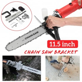 Bailide Aotuo Gergaji Chainsaw Bracket Set M10 for Angle Grinder - 7