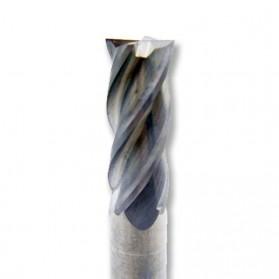 MZG Mata Bor Drill Bit Alloy Tungsten Steel 4mm 4 Flute - HRC50 - Silver - 3