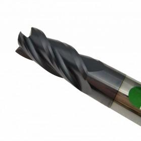 MZG Mata Bor Drill Bit Alloy Tungsten Steel 6mm 4 Flute - HRC50 - Silver - 2