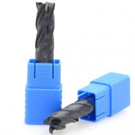 MZG Mata Bor Drill Bit Alloy Tungsten Steel 8mm 4 Flute - HRC50 - Silver