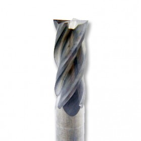 MZG Mata Bor Drill Bit Alloy Tungsten Steel 8mm 4 Flute - HRC50 - Silver - 3