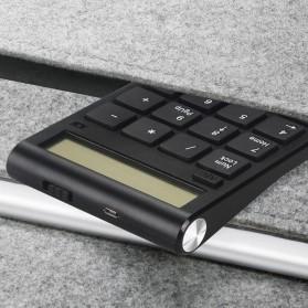 Tmddotda Numeric Keypad Numpad Wireless 2.4GHz - 839ES - Black - 5