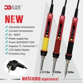 CXG Solder Listrik Constant Temperature Electric Iron Lead 220V 60W - E60WT - Black/Red - 7